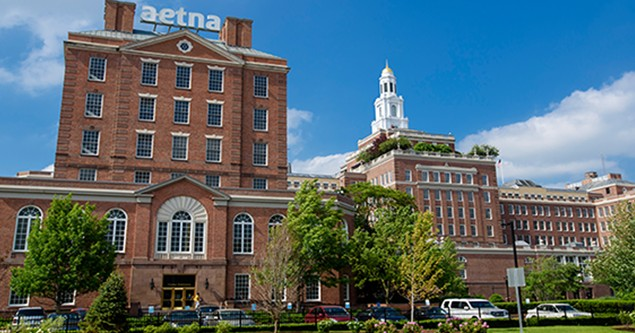 The Aetna building