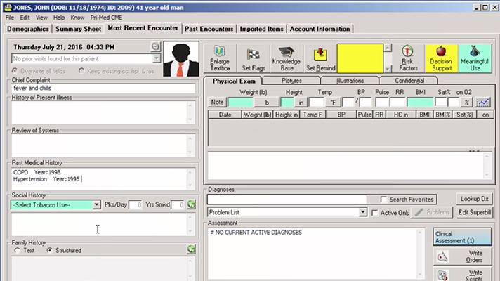 EHR data security