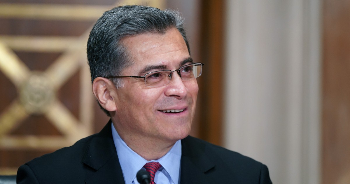 HHS Secretary nominee Xavier Becerra indicates support for virtual care thumbnail
