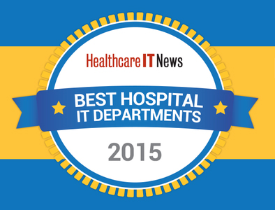 Best Hospital IT Departments 2015 logo