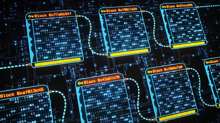blockchain digital ledger technology of patient records