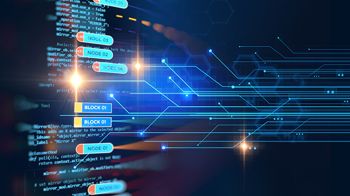 blockchain ledger flow