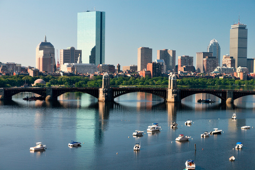Boston photo by Matthias Rosenkranz via Flickr