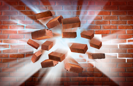breaking through brick wall wwwpixsharkcom images