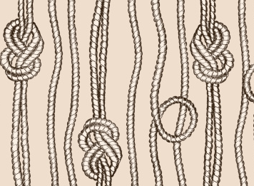 Knotted ropes