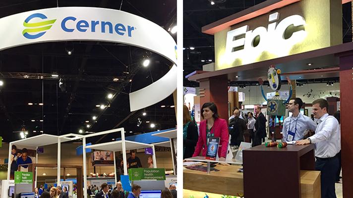 Cerner and Epic exchange patient records