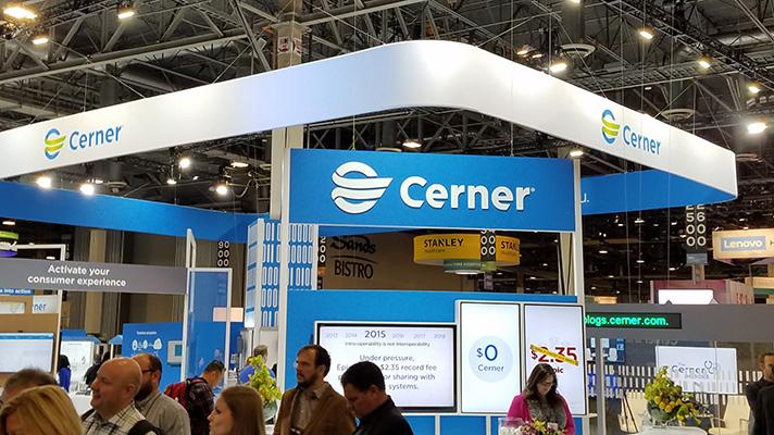 cerner EHR vendor at himss18