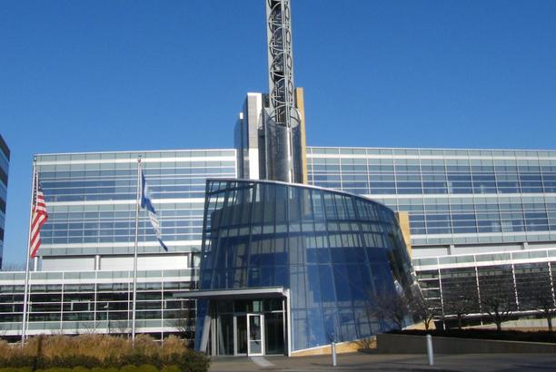 Cerner headquarters photo by Americasroof via Wikipedia