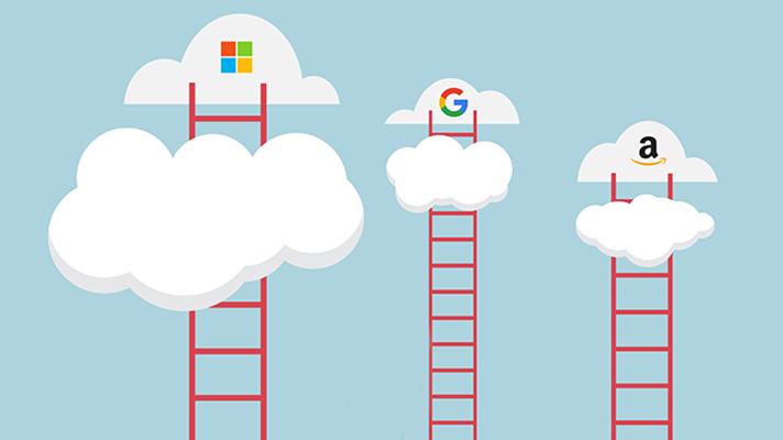 Microsoft cloud Google Amazon