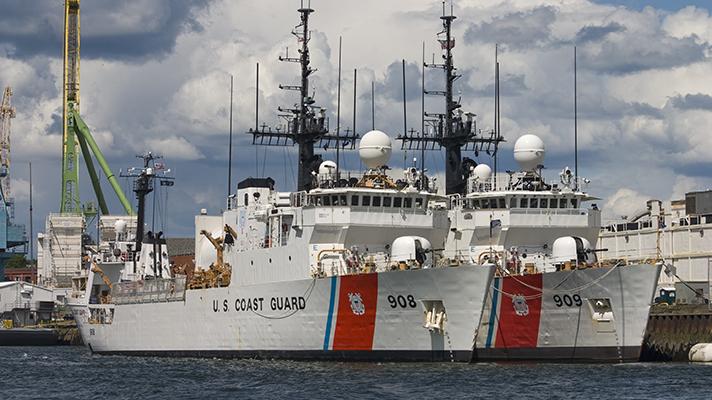 Coast Guard awards $17 million contract for health