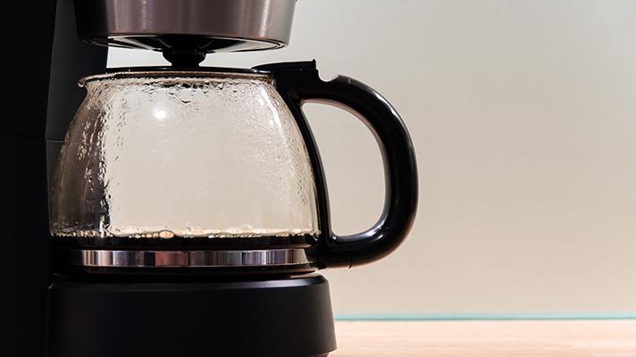 coffee machine infected monitors