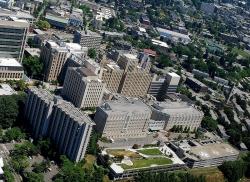 UW Medicine's Harborview Medical Center in Seattle (photo: Joe Wolf, Flickr)