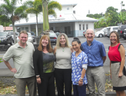 "a:2:{s:5:""title"";s:324:""Members of the Hawaii Beacon staff include, from left to right: Jeff Jendrysik, project manager; Melinda Nugent, clinical program manager; Cynthia Ross, clinical program facilitator; D. Michiko Fried, managed care coordinator; Walt Thistlewaite, program evaluation manager; and Jessica Yamamoto, community engagement manager"";s:3:""alt"";s:0:"""";}"