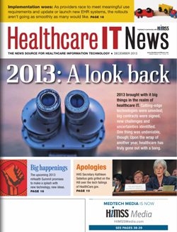 The December print issue of Healthcare IT News