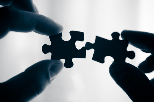 putting puzzle pieces together