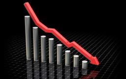 Decrease chart