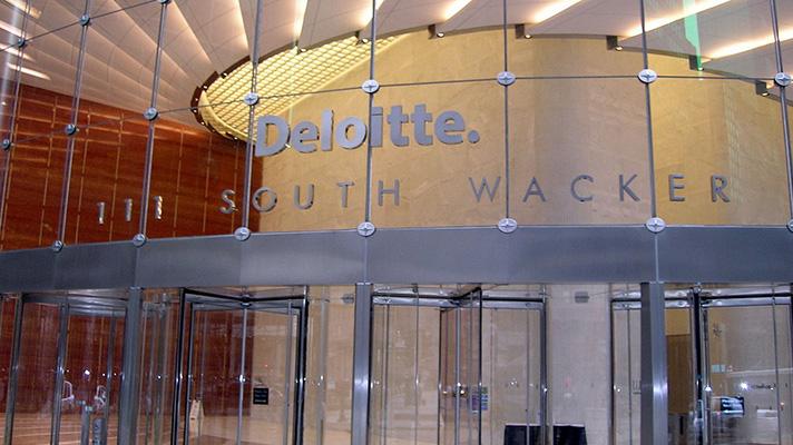 Deloitte headquarters in Chicago