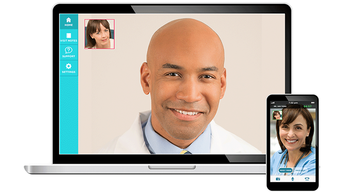 Doctor on Demand's telemedicine platform connects patients with care providers.