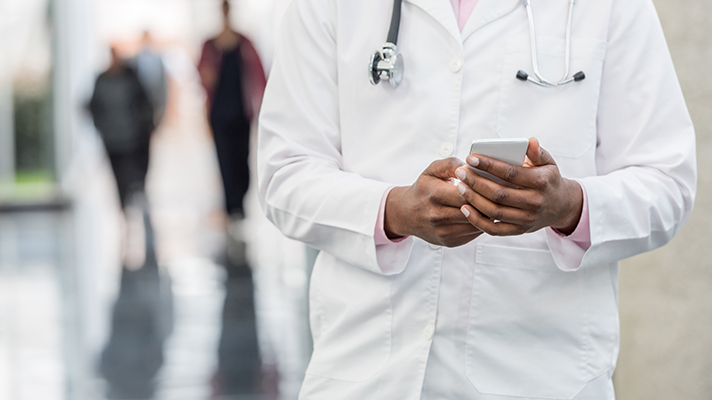 CMS policy on texting patient information