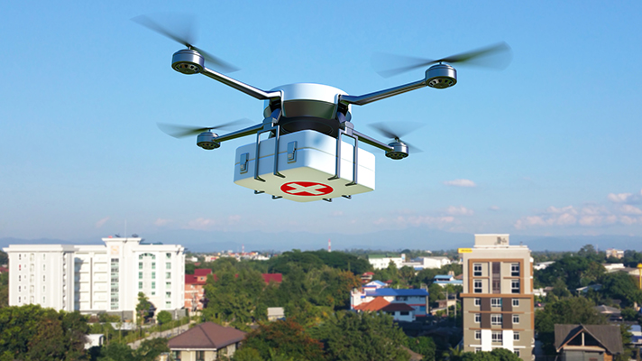 drones used in healthcare