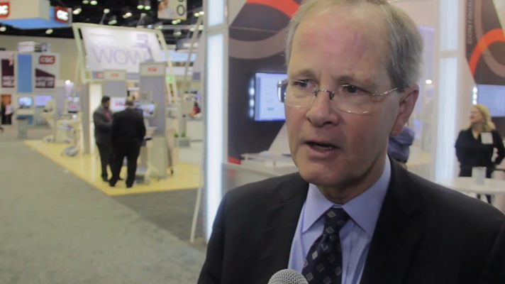 John Glaser of Cerner speaks to Healthcare IT News at HIMSS14