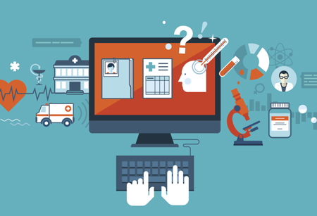 Health IT illustration