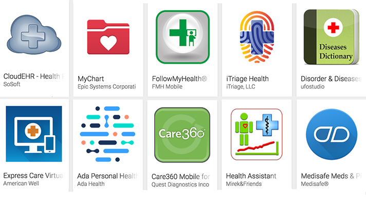 security problems with health apps