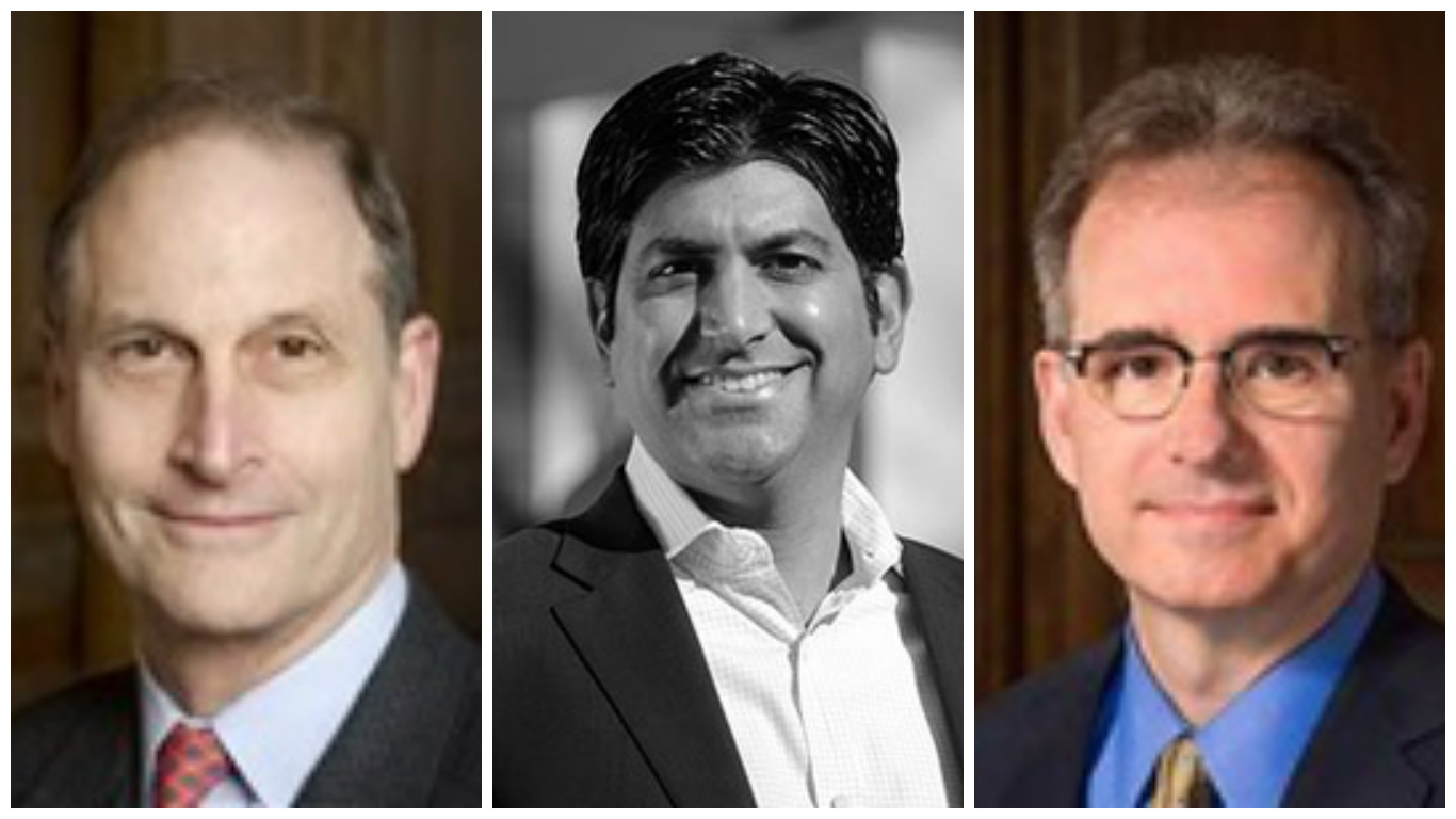 David Blumenthal, MD, Aneesh Chopra and Eric Schneider