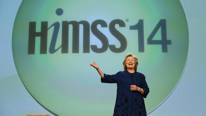 Hillary Clinton HIMSS
