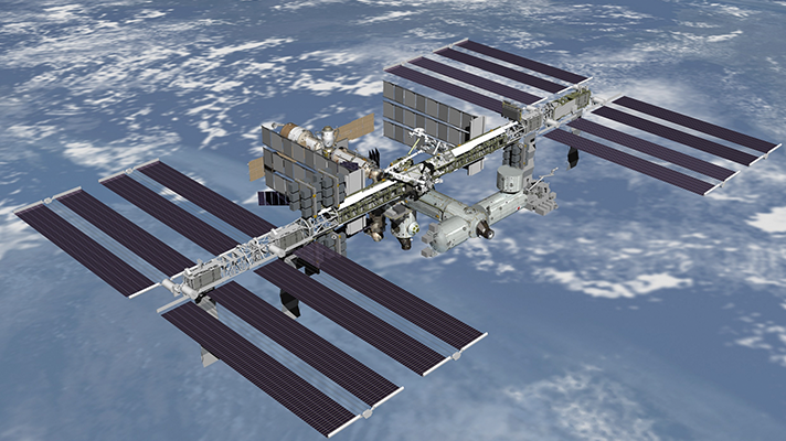 International Space Station (via Wikipedia)