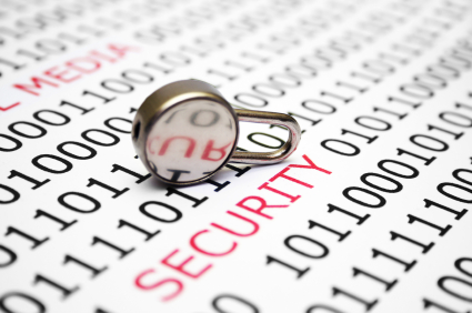 Security text and lock