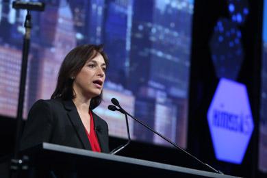 Karen DeSalvo, MD speaks at HIMSS15 on April 16.