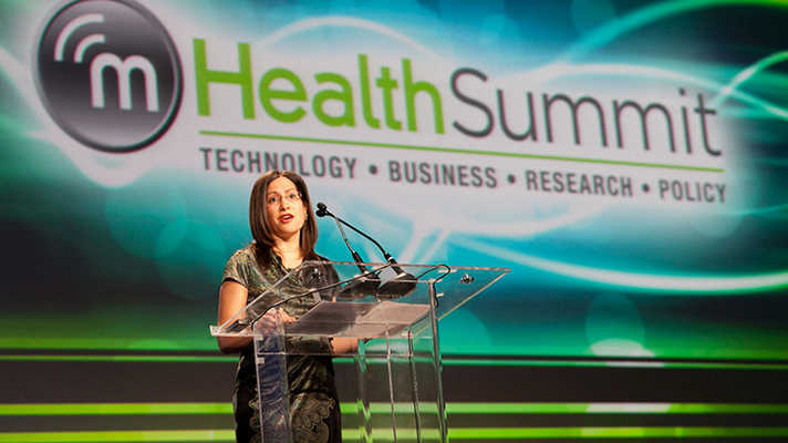 Patricia Mechael at the mHealth Summit in 2011. (Flickr)