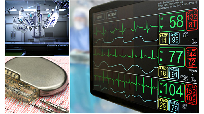 unsecured medical devices