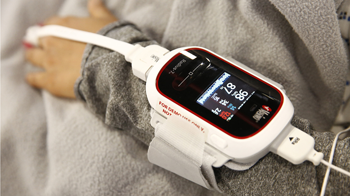 medical device worn by patient
