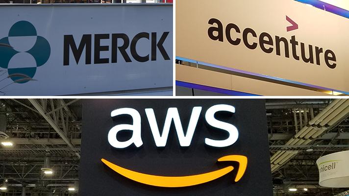 merck accenture aws signs