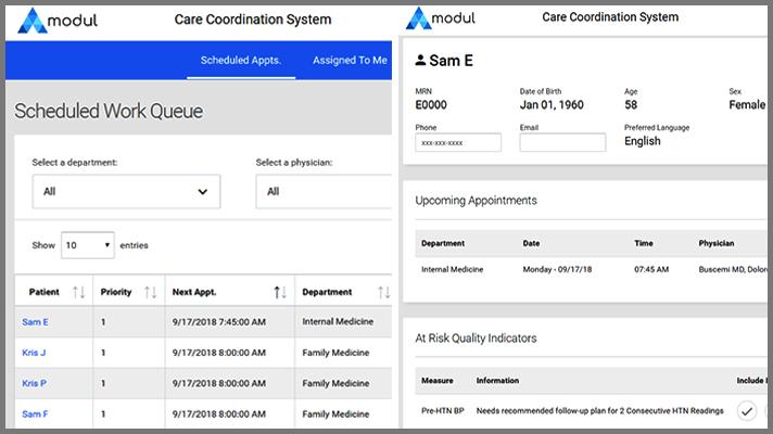 screen snap of Modul app