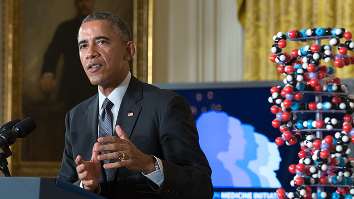 An all-star cast of health IT vendors and organizations are involved in President Barack Obama's Precision Medicine Initiative.