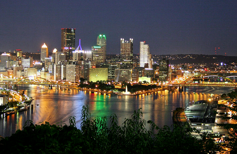 Pittsburgh photo by Ronald C. Yochum Jr. via Wikipedia