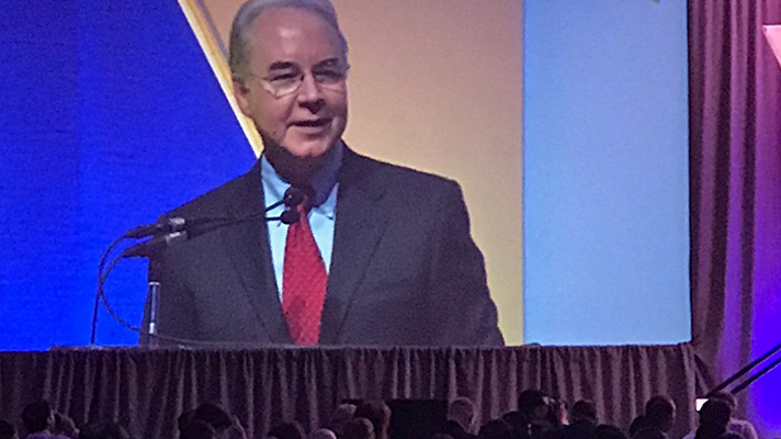 Health IT important, but too burdensome for doctors, Tom Price says at Health Datapalooza
