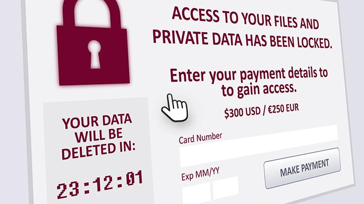 ransomware attacks in healthcare