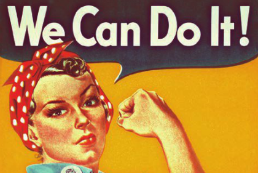 Rosie the Riveter April 2013 Healthcare IT News cover Women in health IT roles