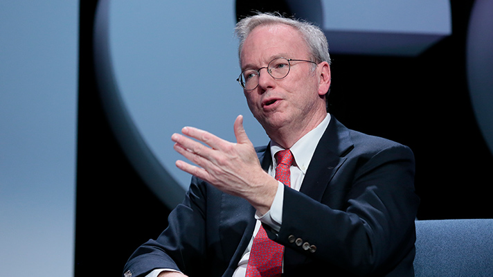 eric schmidt lays out formula for healthcare innovation healthcare