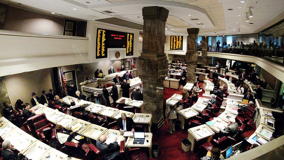 Alabama House of Representatives photo by Exothermic via Wikipedia