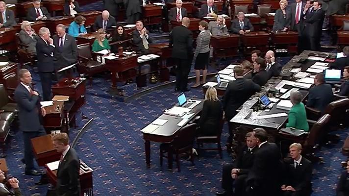 Senate vote on healthcare bill