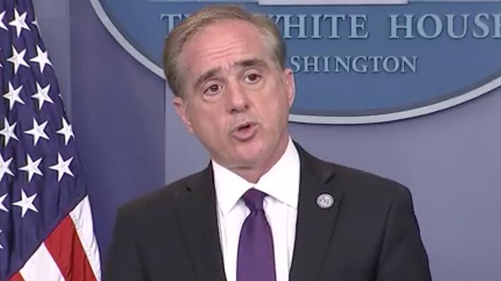 Veterans Affairs' Secretary David Shulkin