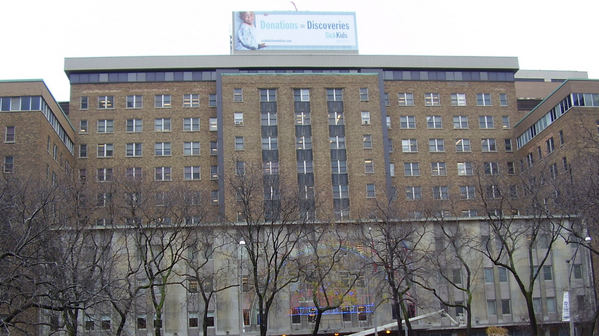 Hospital for Sick Children in Toronto