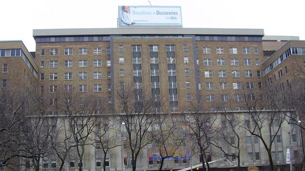 Hospital for Sick Children in Toronto
