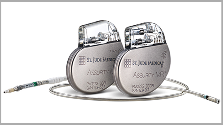 St Jude Medical cardiac rhythm management product, pacemaker